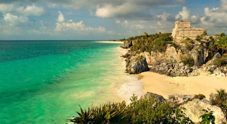 Hermosa Playa del caribe