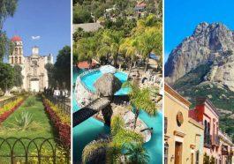 Collage de Pueblos Mágicos