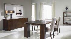 comedor con muebles de madera