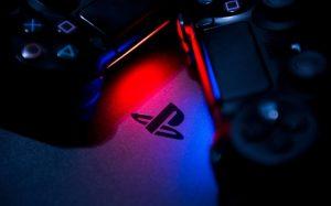 controles con logo de play station