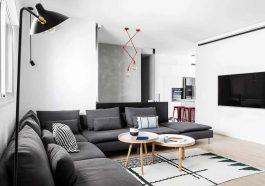 Casa con muebles nuevos