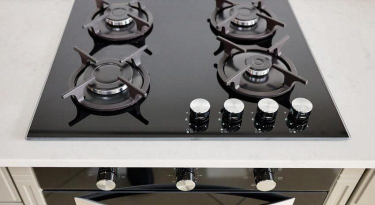 partes de una estufa moderna